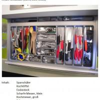 Inventar der Schublade